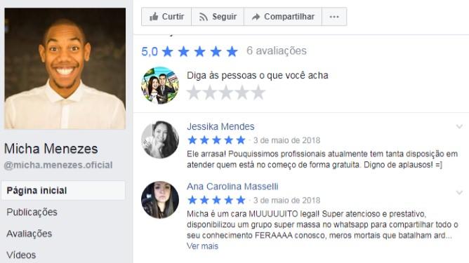Acelerador de Anúncios - Micha Menezes | Depoimentos