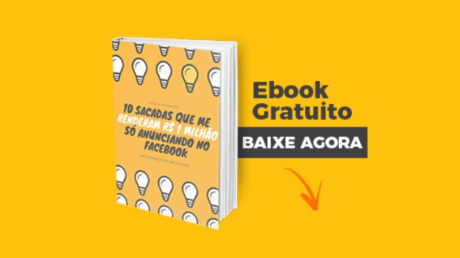 Acelerador de Anúncios - Micha Menezes   eBook 10 Sacadas FaceAds