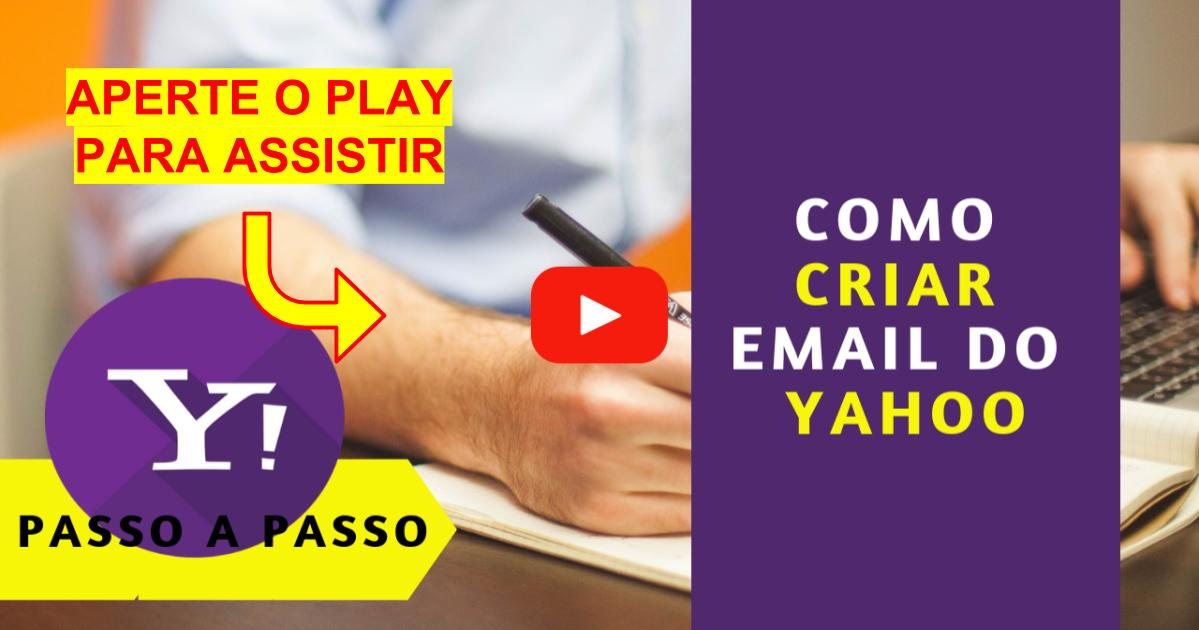 Como Criar Email do Yahoo