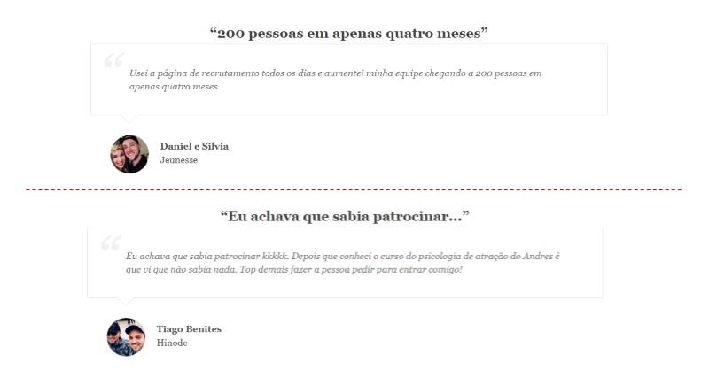 Recrutamento Samurai - Andres Postigo | Depoimentos ... É Bom? Vale a Pena? Funciona?