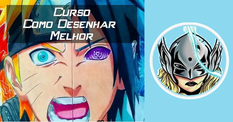 Como Desenhar Melhor - Curso de Desenho Anime Mangá do Anderson Silva - Funciona, É Confiável, É Bom