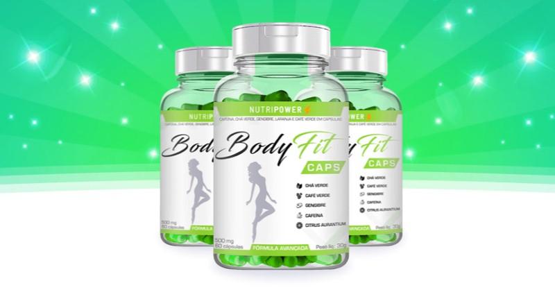 BodyFit Caps - Os Comprimidos paraEmagrecer Rápido Sem Exercícios da Nutri Power - Funciona, É bom, Vale a Pena, Furada, Fraude