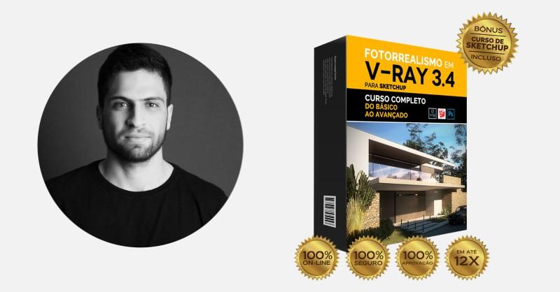 V-Ray 3.4 para Sketchup - Curso de Projeto de Arquitetura 3D do Pedro Greghi - Funciona, É bom, Vale a Pena