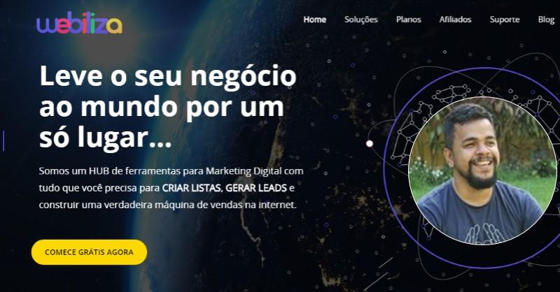Webiliza - A Plataforma de Marketing Digital do Bruno Oliveira - Funciona, É bom, Vale a Pena, Furada, Fraude