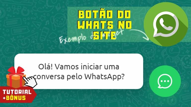 Como Colocar um Botão Flutuante do WhatsApp em Seu Site ou Blog com a Bot2Zap