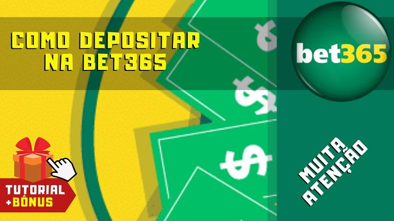 Como Depositar Dinheiro na Bet365