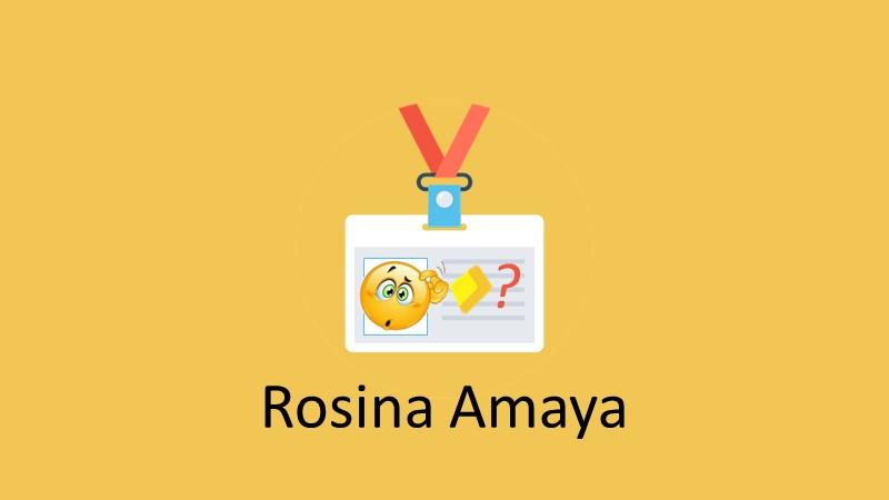 Cocinando con Rosina ¿Funciona? ¿Vale la pena? ¿Es bueno? ¿Tienes testimonios? ¿Es confiable? Curso de la Rosina Amaya Fraude? - by Garimpo Online